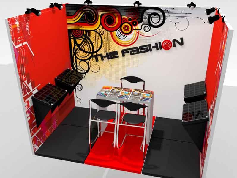 The Fashion - Design of space for fashion fair